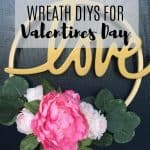Gorgeous Wreath DIYs for Valentines Day