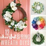 Cheerful Spring Wreath DIY Ideas