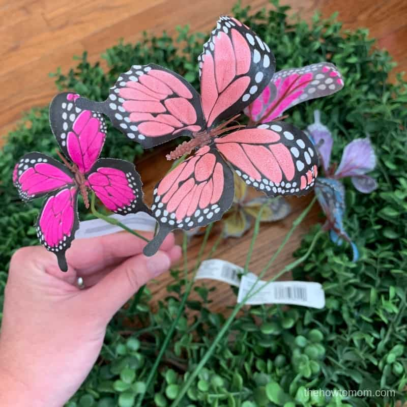 Butterflies for Wreath