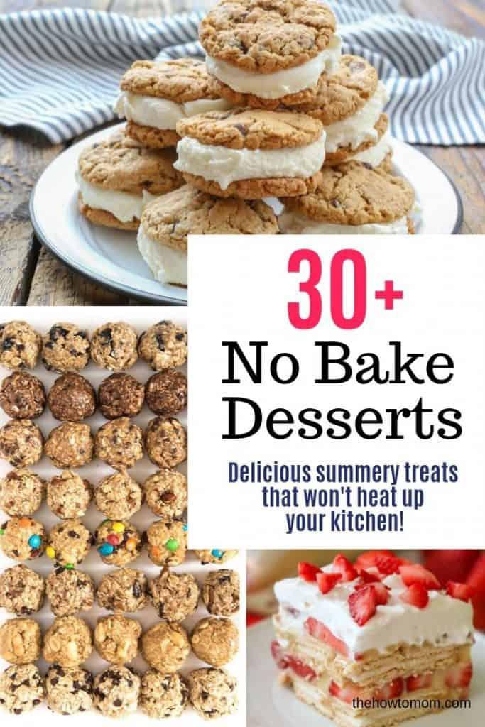 more than 30 no bake dessert ideas