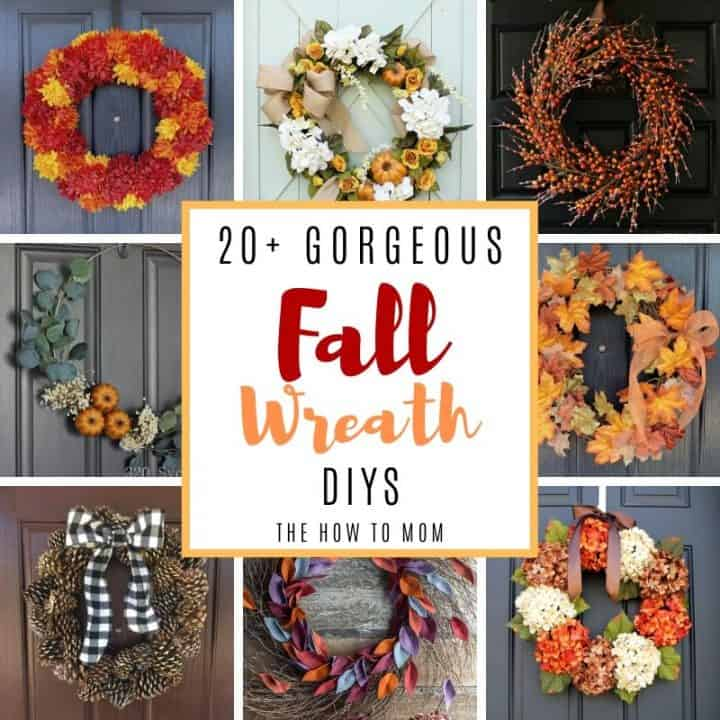 Gorgeous fall wreath ideas