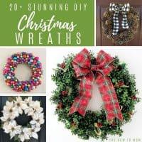 Stunning Christmas DIY Wreaths
