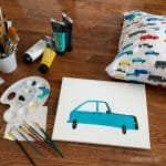 How to Make DIY Wall Art – Easy Canvas Paintings for Kids Rooms