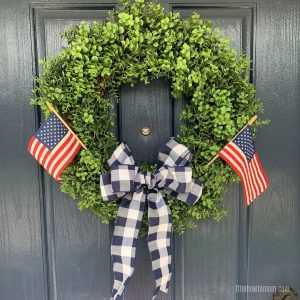 Patriotic Fourth of July Wreath