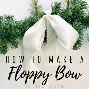 How to Make a Floppy Bow