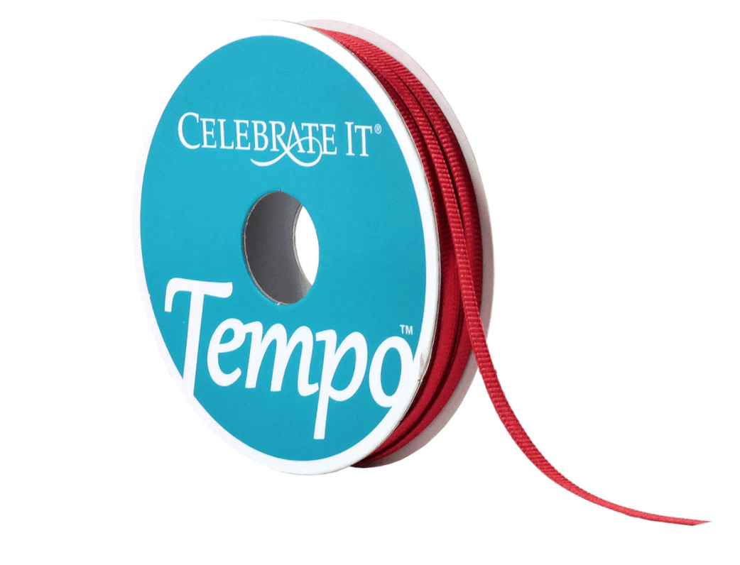"1/8"" Grosgrain Ribbon by Celebrate It� Tempo"""