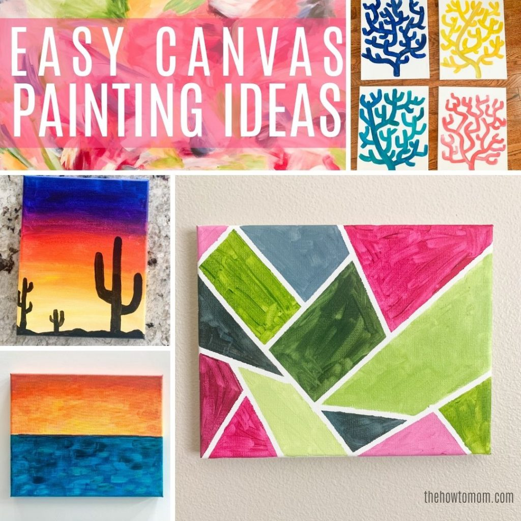 ideas for painting on canvas